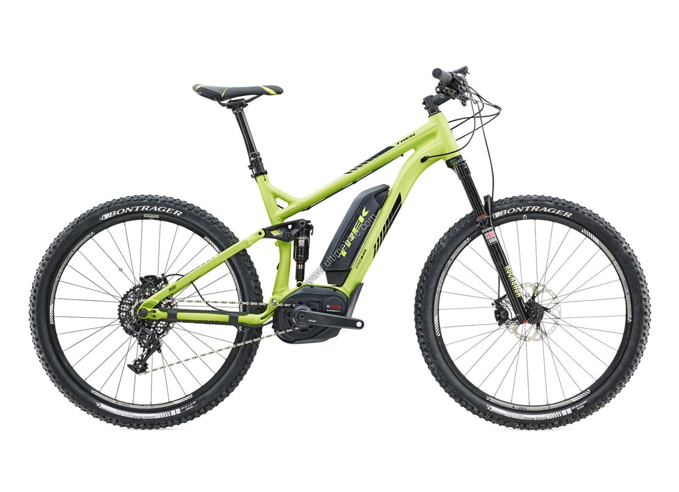 Vtt assistance lectrique trek powerfly fs 9 27 5 matte volt green trek bl - Assistance electrique vtt ...