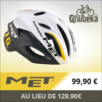 Casque MET Rivale MTN Qhubeka Limited Edition