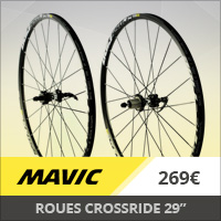 "Roues Mavic Crossmax Mavic Crossride 29"" Disc 6T 15/12 m"