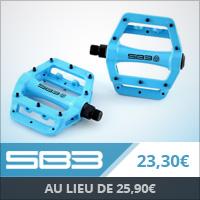 Pédales SB3 Fastblue