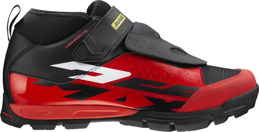 Chaussures VTT Mavic Deemax Elite Noir/Rouge - 43 1/3
