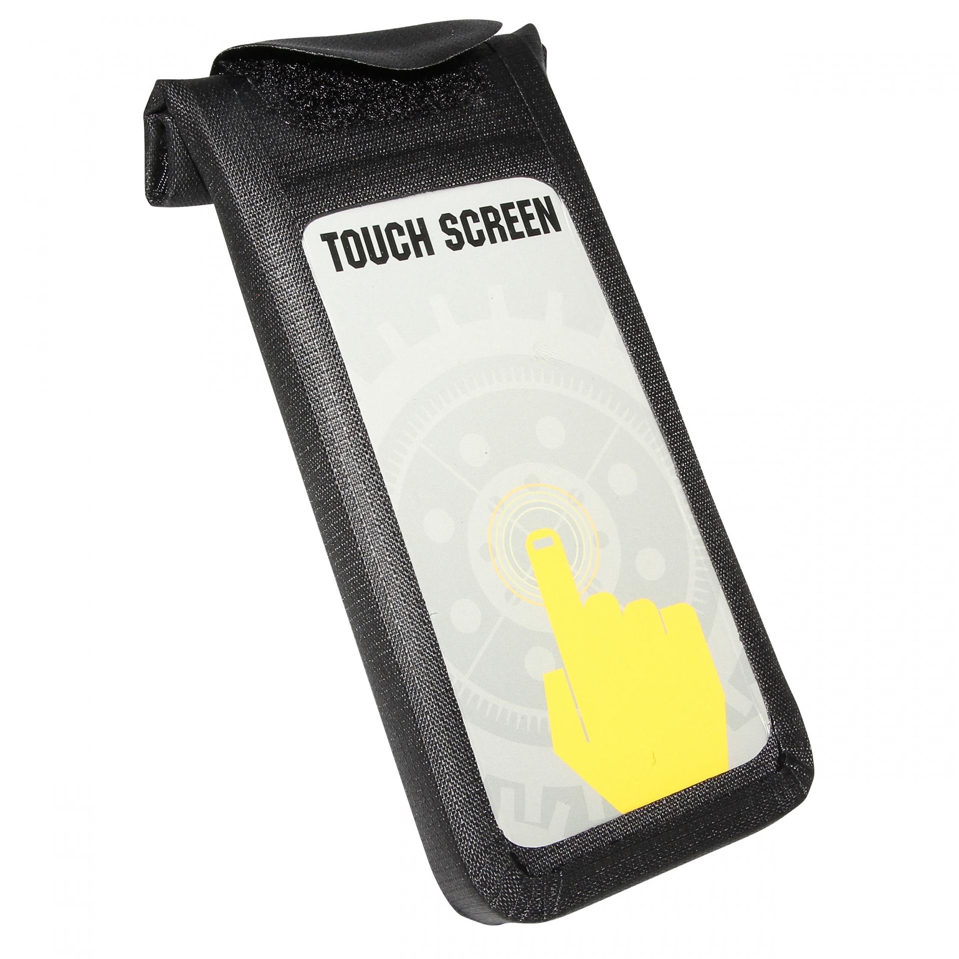 Support Smartphone pour iPhone 5 et 5s Fixation Clips sur cintre Noir