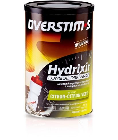 Boisson énergétique Overstims Hydrixir Longue Distance Boîte 600 g - Menthe