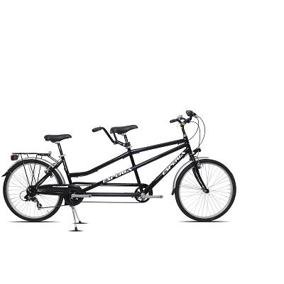 Vélo tandem Esperia 26 Noir aluminium
