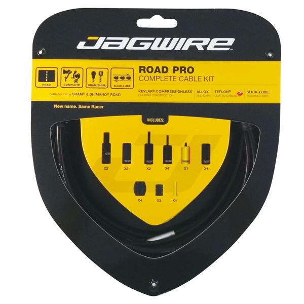 Kit complet câbles et gaines Jagwire Road Pro - Noir RCK000