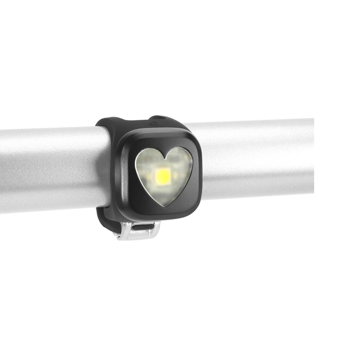 Éclairage arrière Knog Blinder Coeur 1 LED - Noir