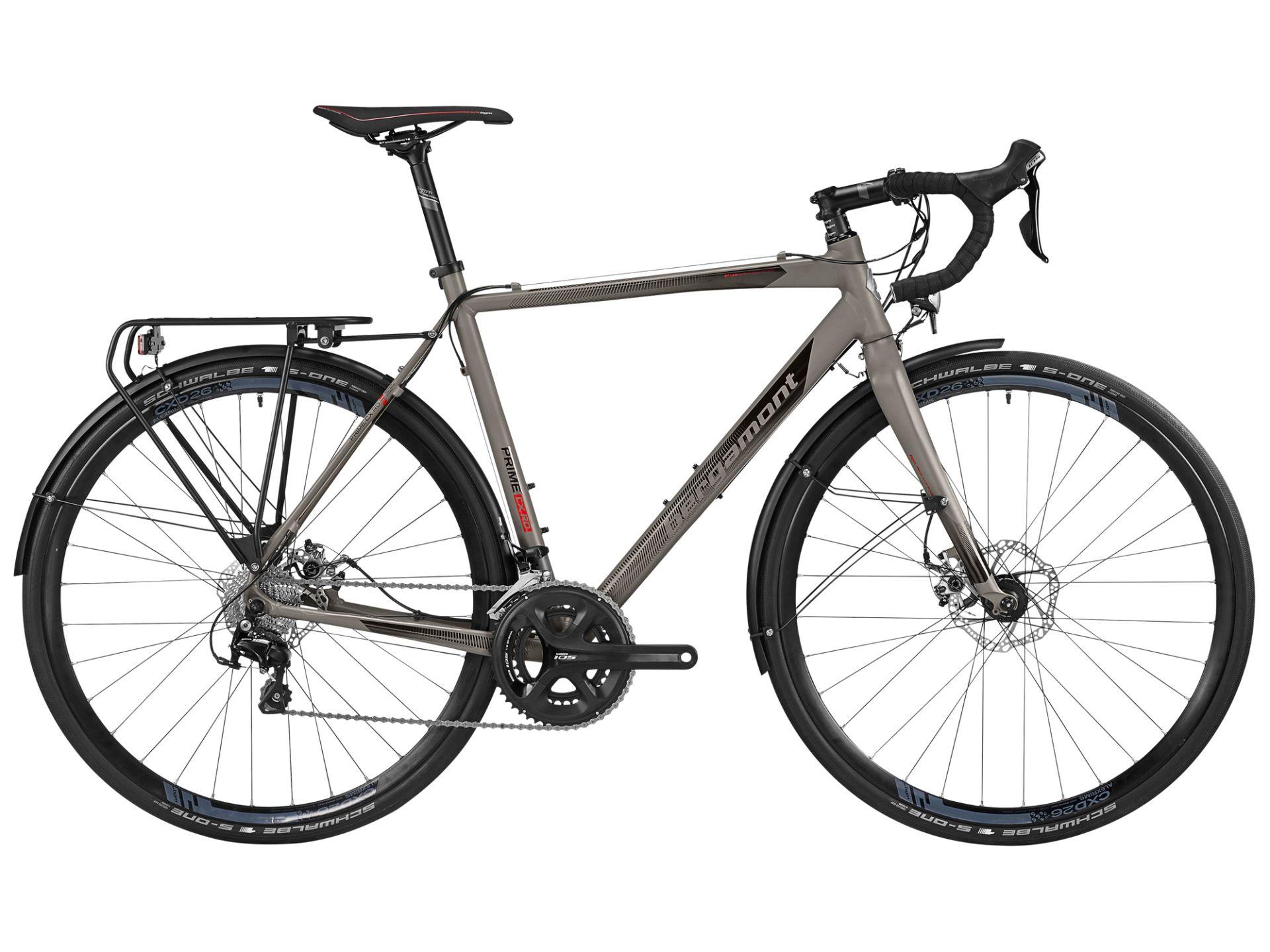 Vélo gravel/aventure Bergamont Prime CX RD 2016 - 54 cm