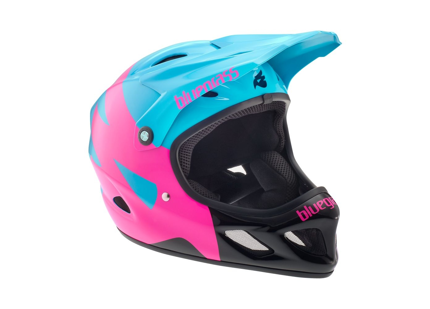 Casque Bluegrass Explicit Cyan/Magenta/Noir - M 56-58