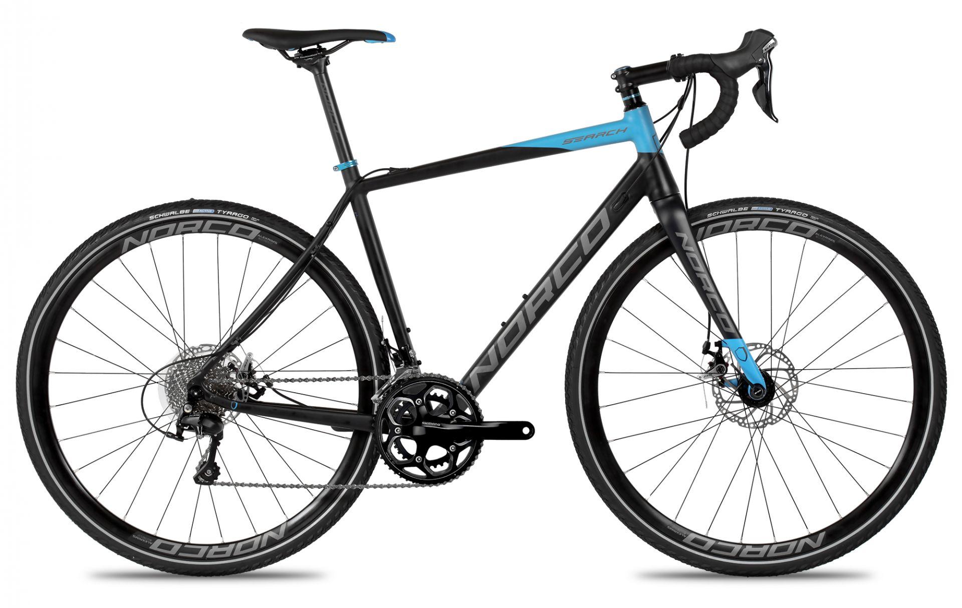 Vélo gravel Norco Search A 105 (Bleu/Noir) 2016 - 53 cm