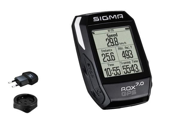 Compteur Sigma Rox 7.0 GPS Noir