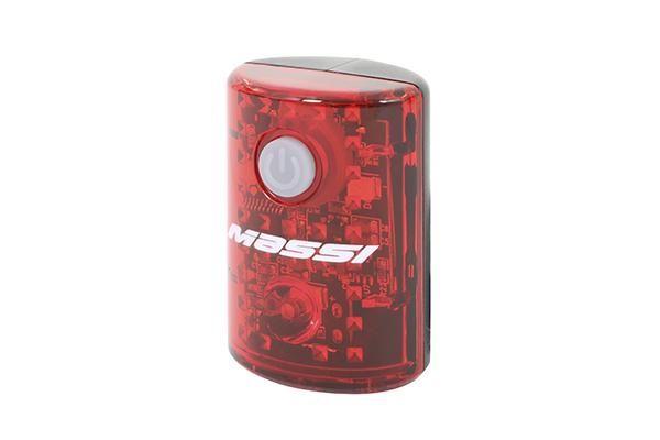 Éclairage arrière Massi Athos 15 Lumens USB