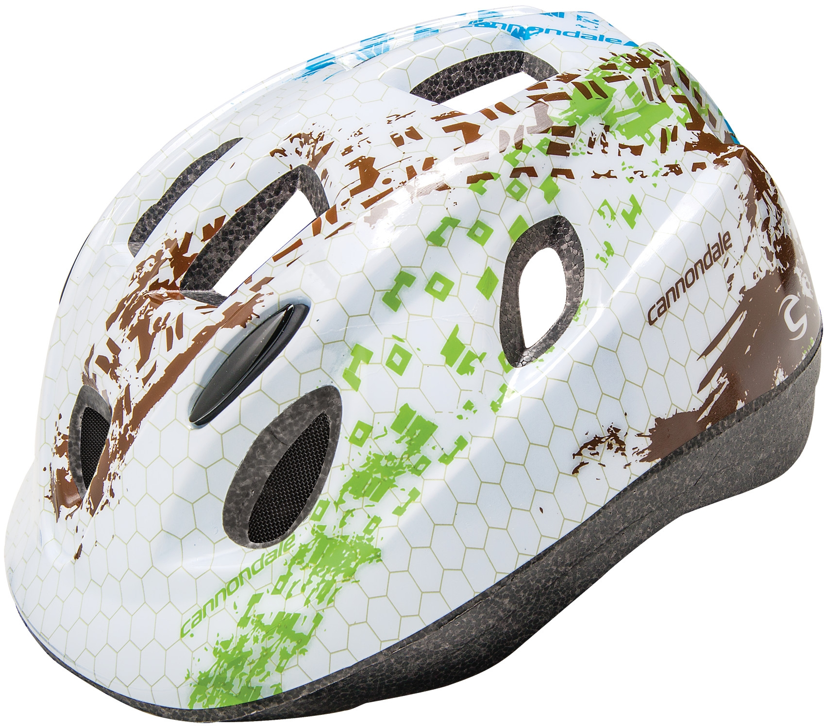Casque enfant Cannondale Kid Treat Blanc/Vert