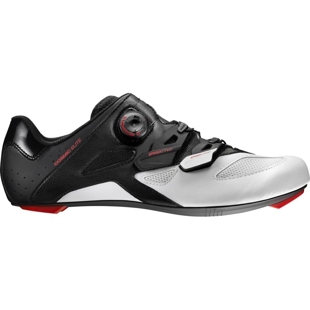 Chaussures Mavic Cosmic Elite Noir/Blanc/Rouge Fiery - 42