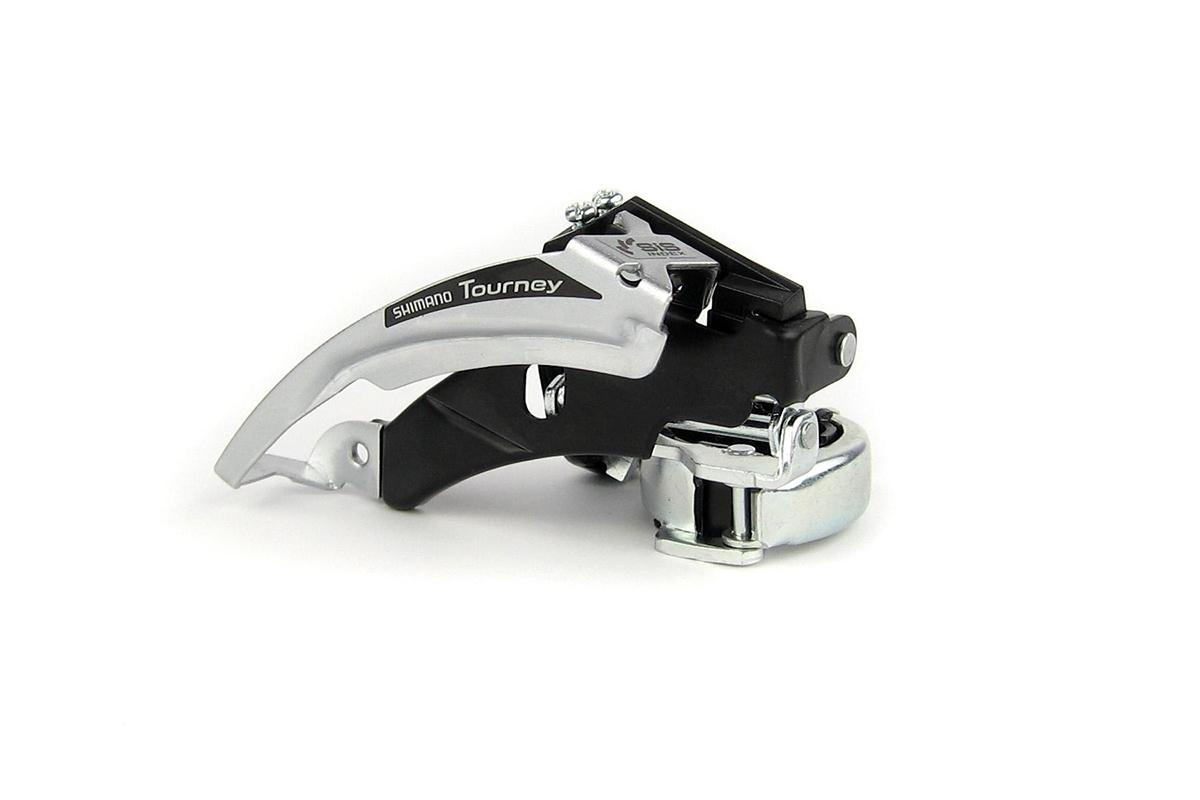 Dérailleur avant Shimano Tourney FD-TX50 Triple Collier haut DualPull