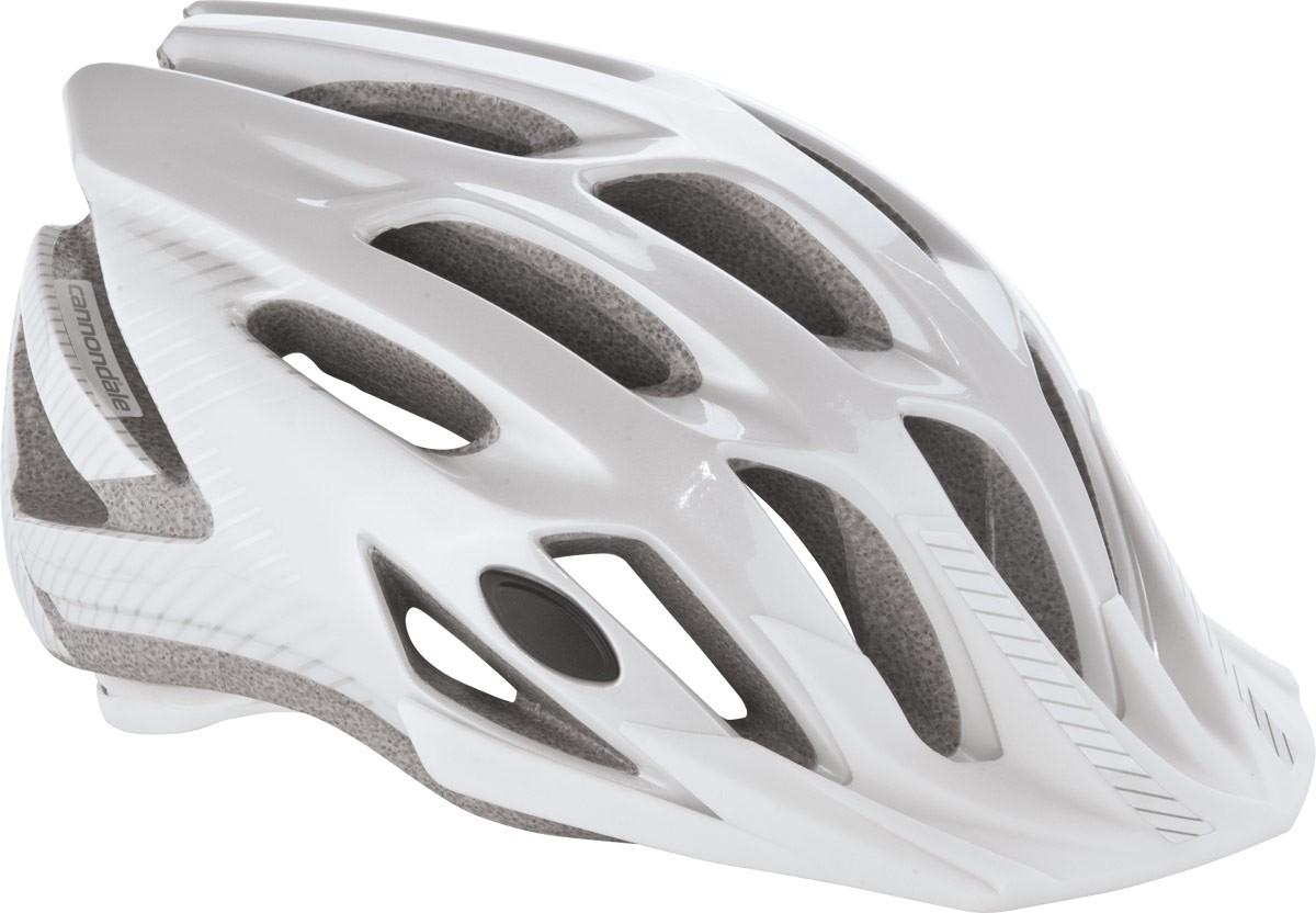 Casque Cannondale Radius Blanc/Argent - L/XL 58-62 cm