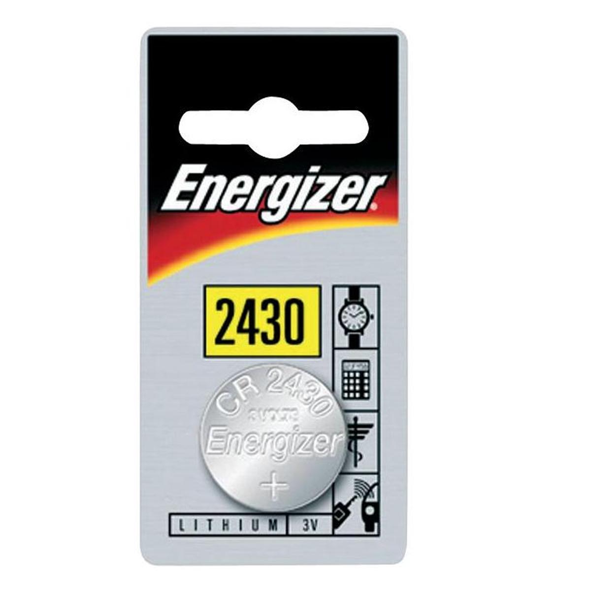Pile Energizer CR2430 Lithium 3V