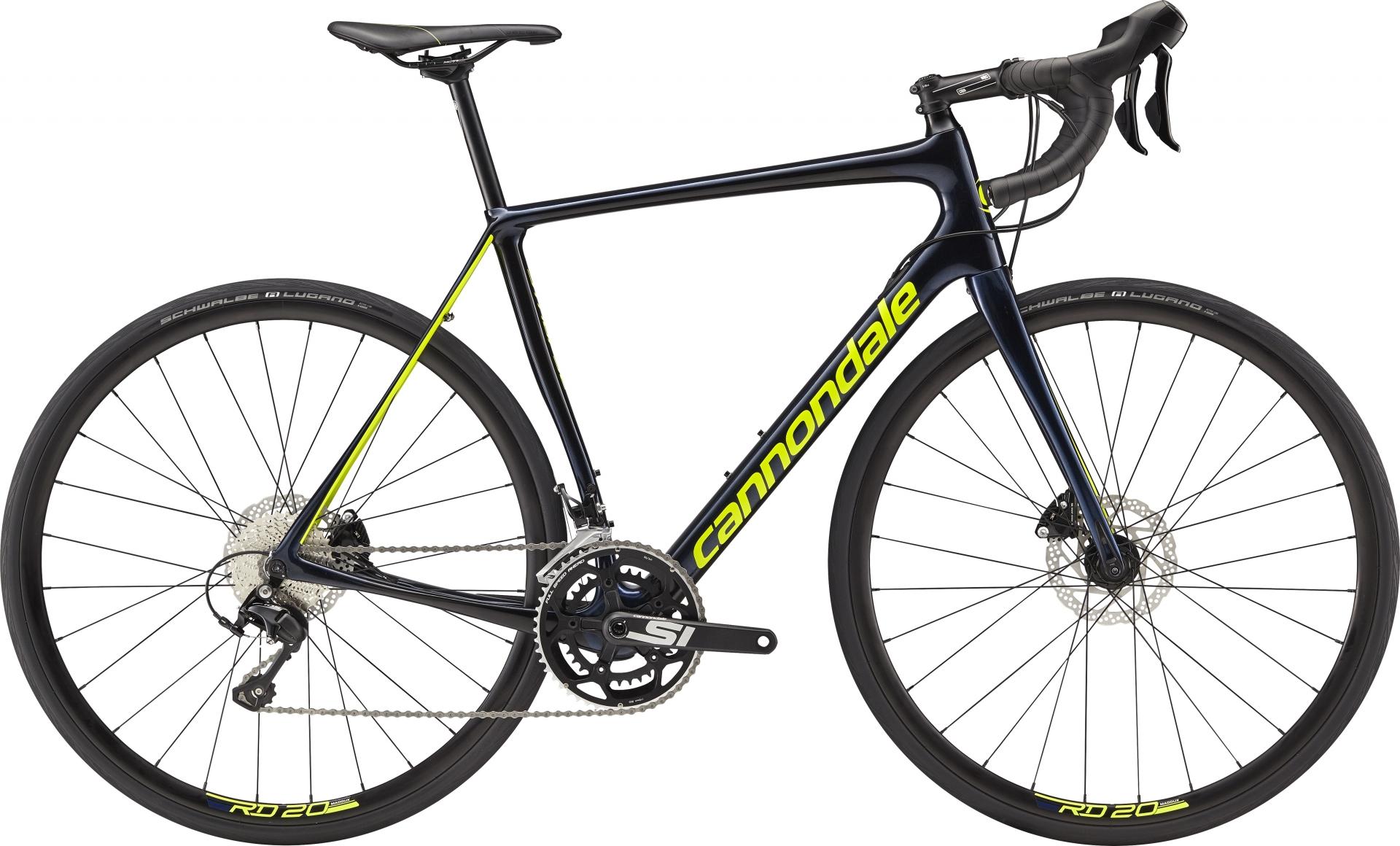 Vélo route Cannondale Synapse Carbon Disc 105 Noir. - 51