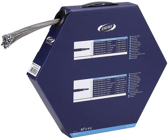 Boîte de 100 câbles dérailleur BBB SpeedWire type Shim 1.1x2000 mm - BCB-31