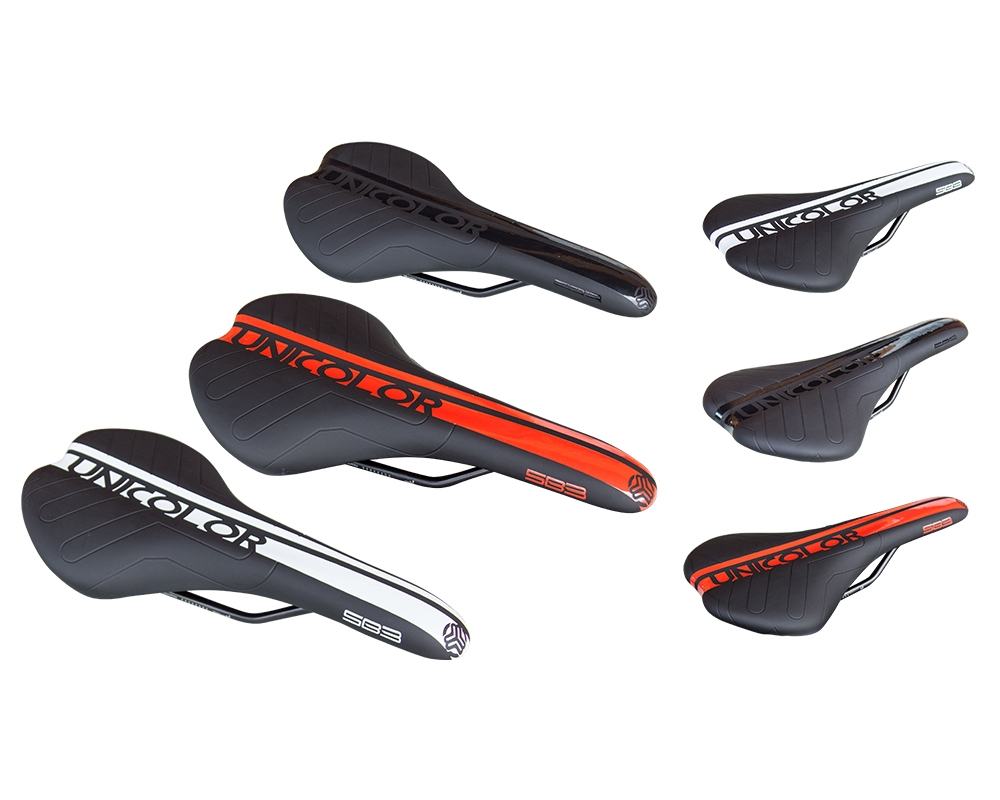 Selle SB3 Unicolor Noir/Rouge