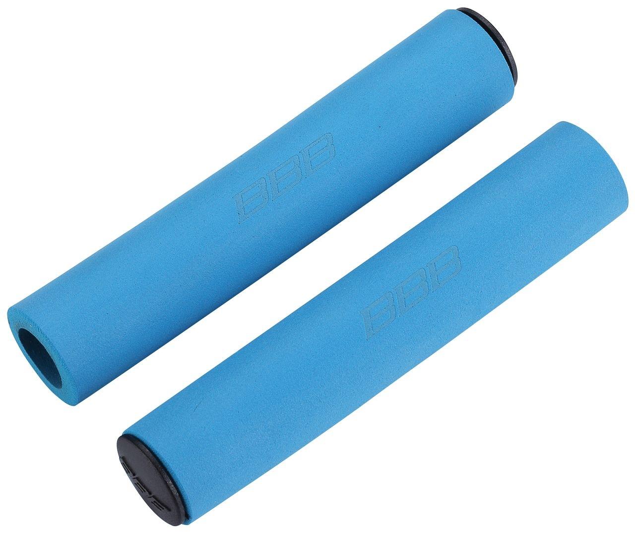 Poignées BBB Sticky 130 mm (bleu) - BHG-34