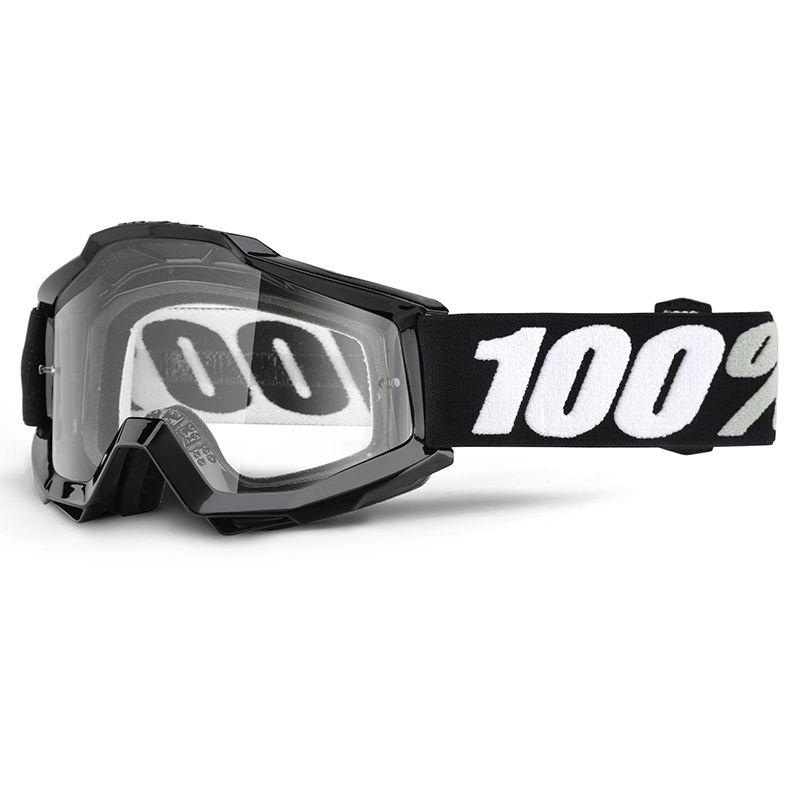 Masque 100% Accuri Tornado Mirror gold lens noir/blanc