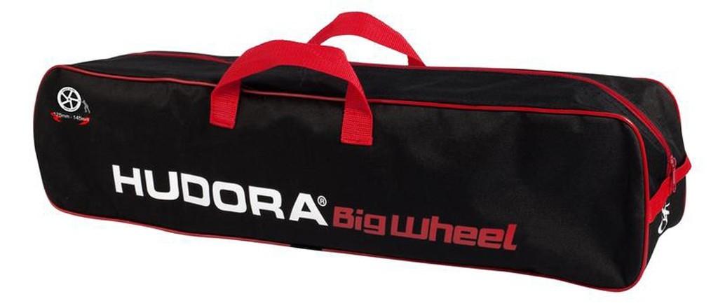 Housse de transport pour trottinette Hudora Big Wheel Noir/Rouge