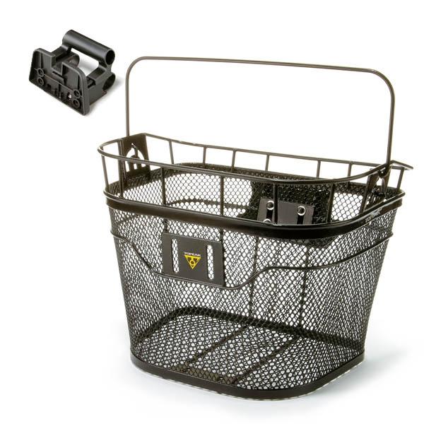 Panier avant Topeak Wire Basket Front 16 L Noir