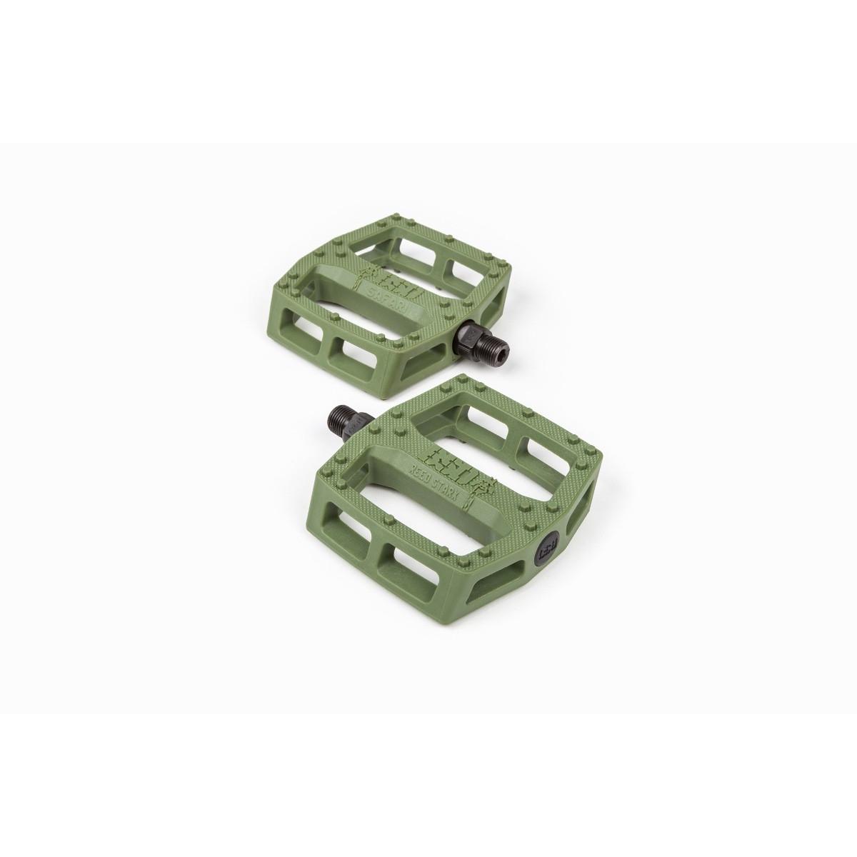 Pédales BMX BSD Safari Plastic Pedals Vert Surplus