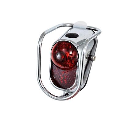 Éclairage AR ATOO LED 10 LUX Vintage À pile Fix. garde-boue Acier Chrome