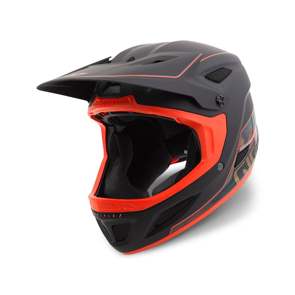 Casque Giro DISCIPLE MIPS Noir mat/Mountain Sea - M / 57-59 cm