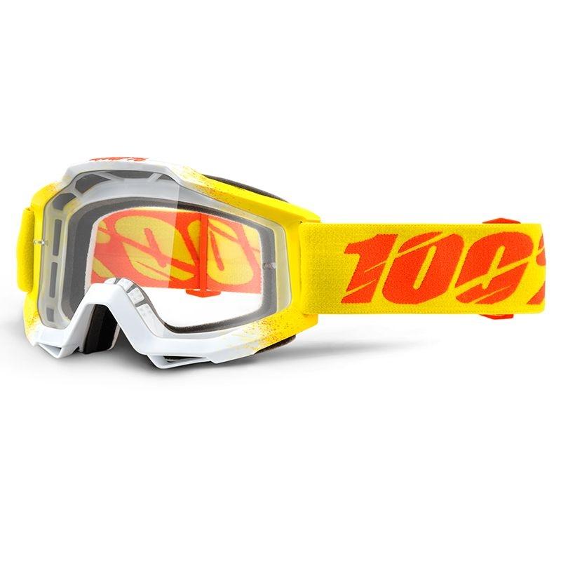 Masque 100% Accuri Zest clear lens jaune