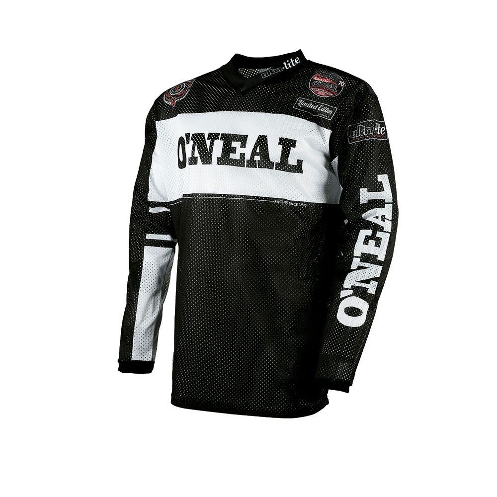 Maillot été O'Neal Ultra-Lite 75 Noir/Blanc - L
