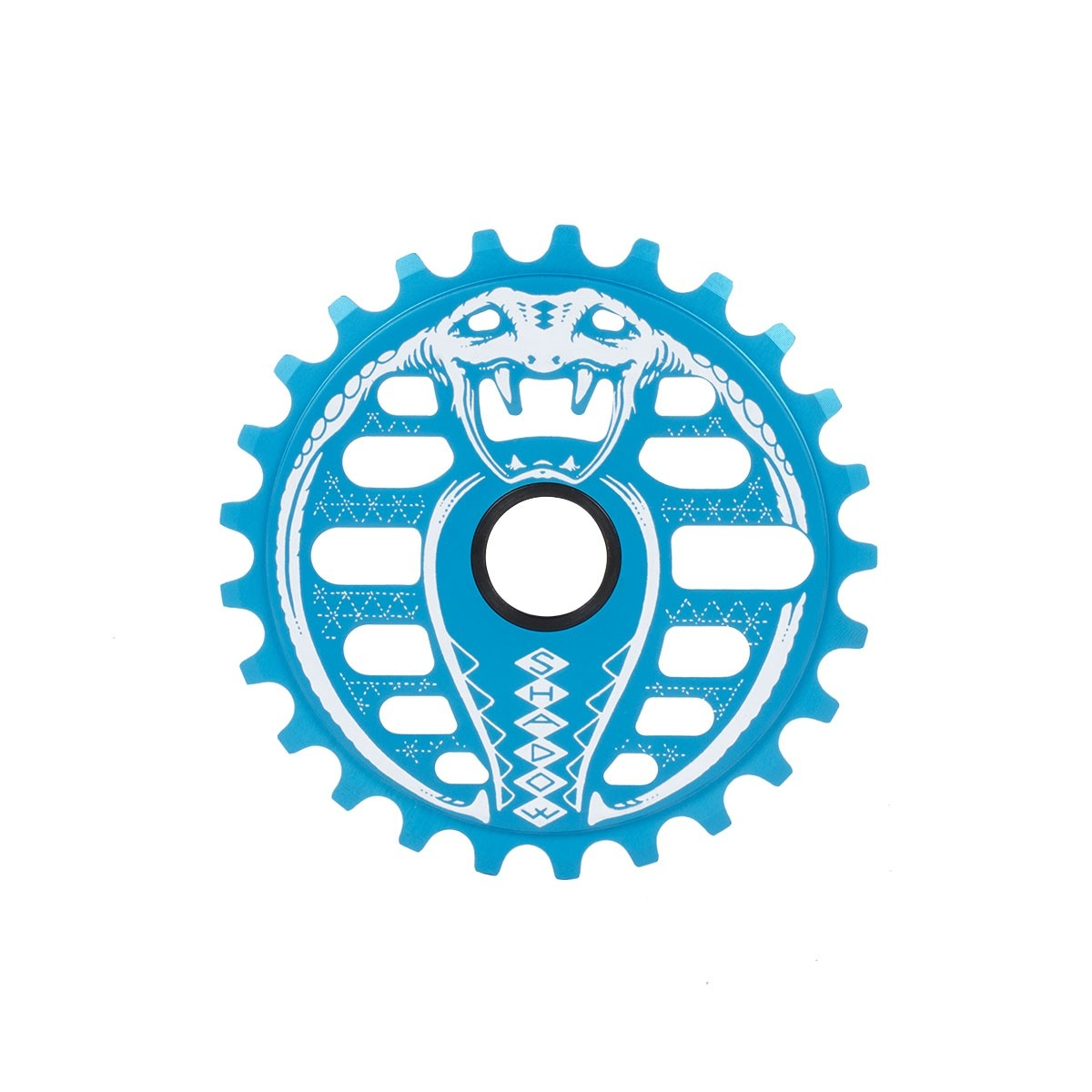 Couronne BMX TSC Kobra Sprocket 25 dts Polar Bleu Polar Pop