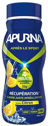 Boisson de récupération Apurna Citron 300 ml
