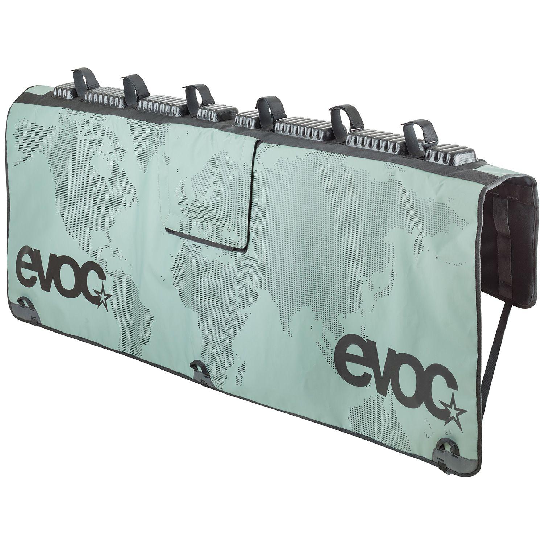 Tailgate Pad EVOC pour hayon de pick-up 6 vélos Vert Olive - M/L