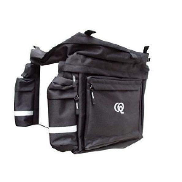 Sacoche arrière triple pour porte-bagages 64 L