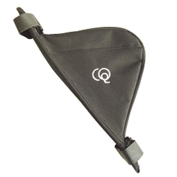 Sacoche de cadre CQ Leader 25x20x6 cm Noir