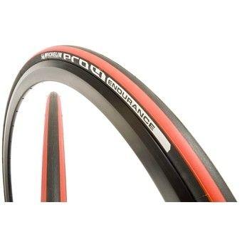 Pneu Michelin Pro 4 Endurance 700x23 Noir/Rouge