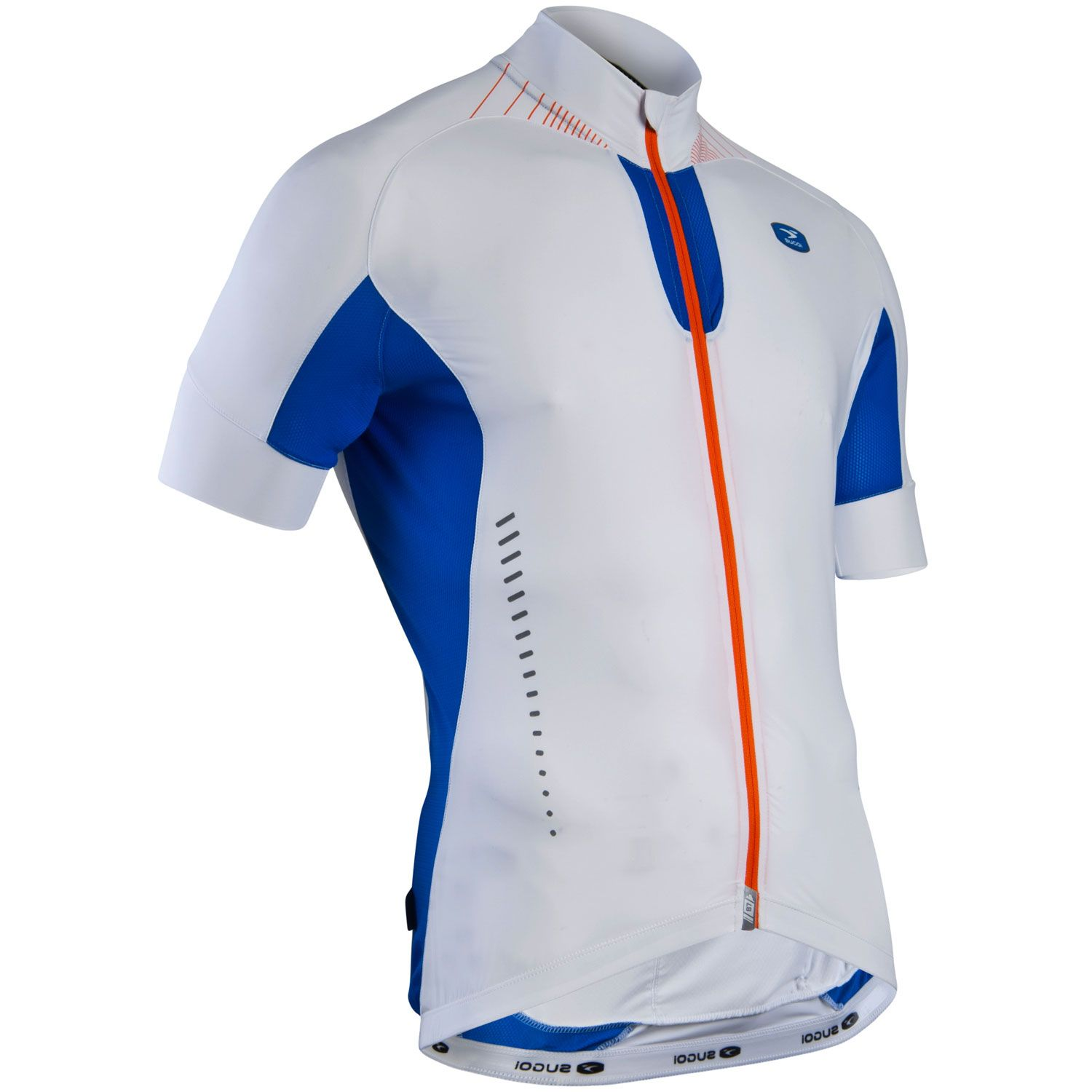 Maillot Sugoi RS Ice Manches Courtes Blanc - M
