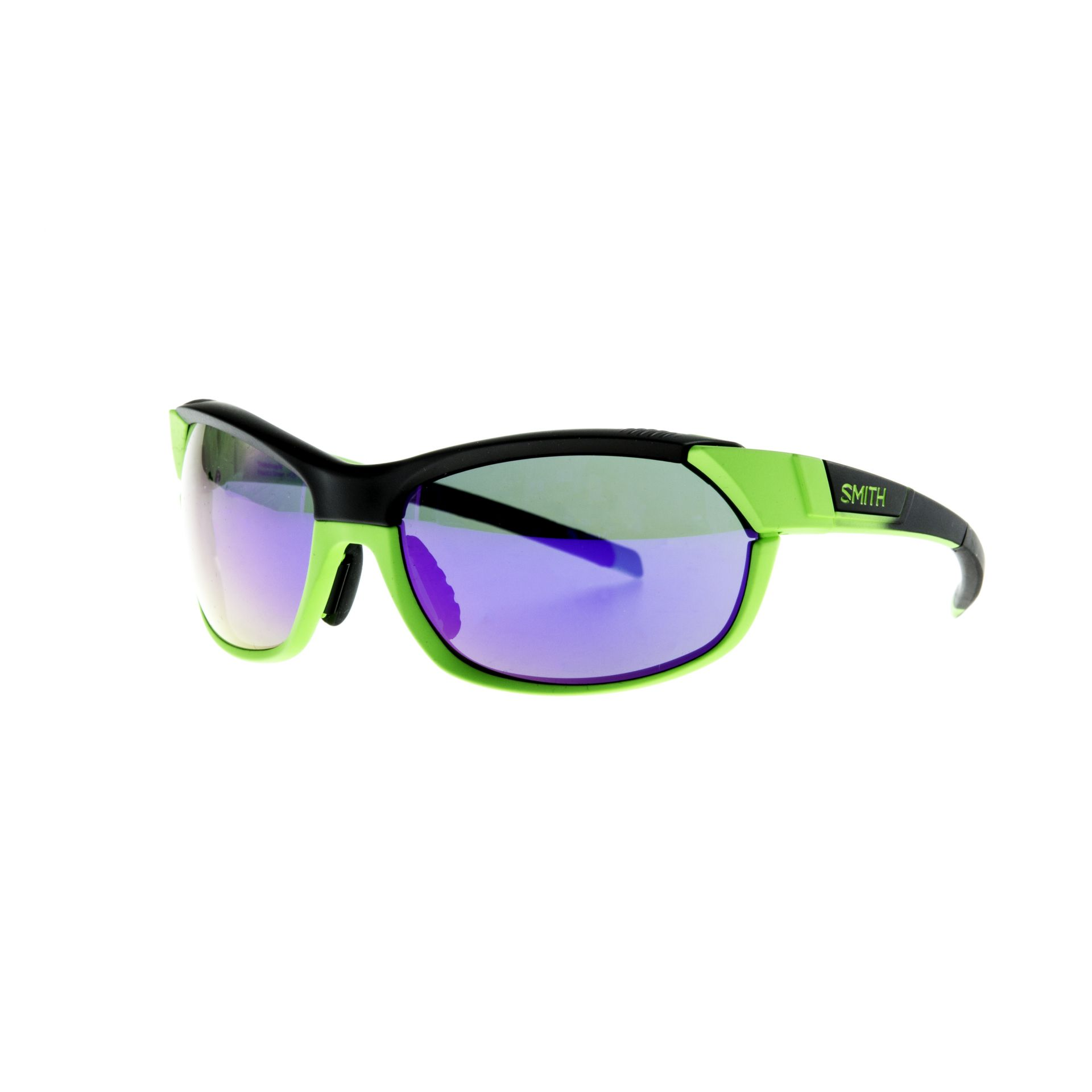 Lunettes Smith Optics PivLock Overdrive Anthracite Vert Fluo/Purple Sol-X