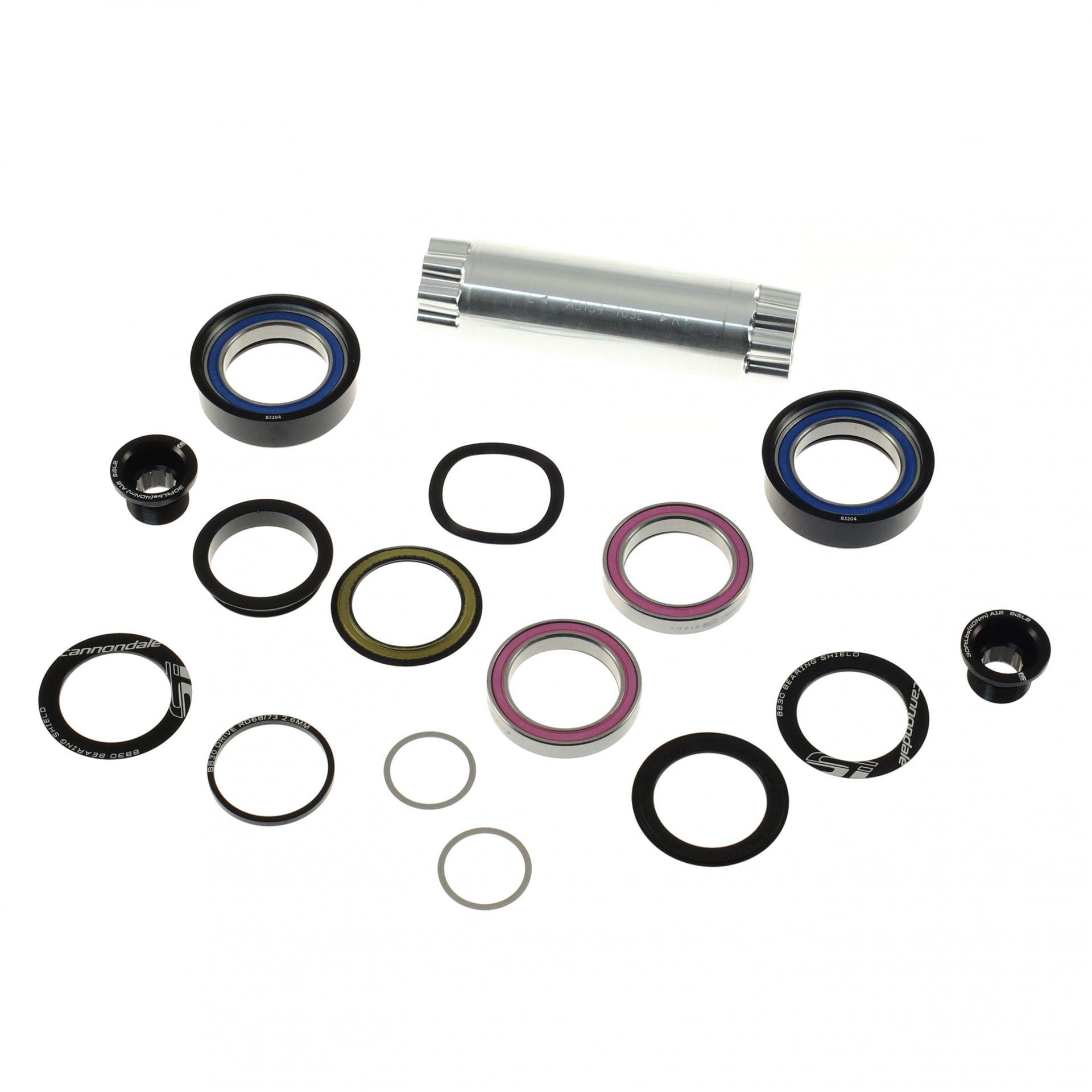 Boîtier de pédalier Cannondale SiSL2 BB30/PF30 68/73x109 mm Céramique (215 grammes)