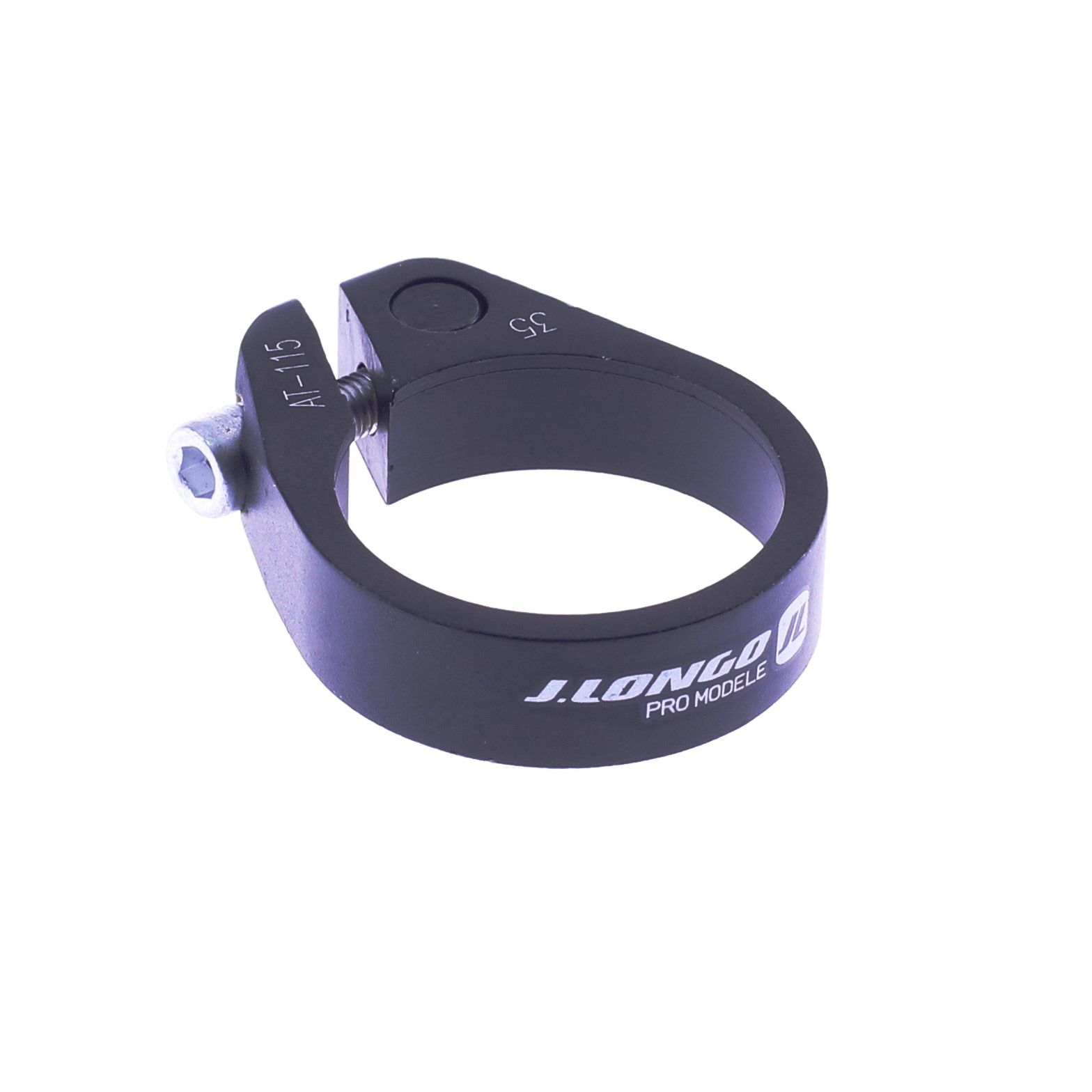 Collier de selle Alu J.Longo Pro modèle 34.9 mm Noir