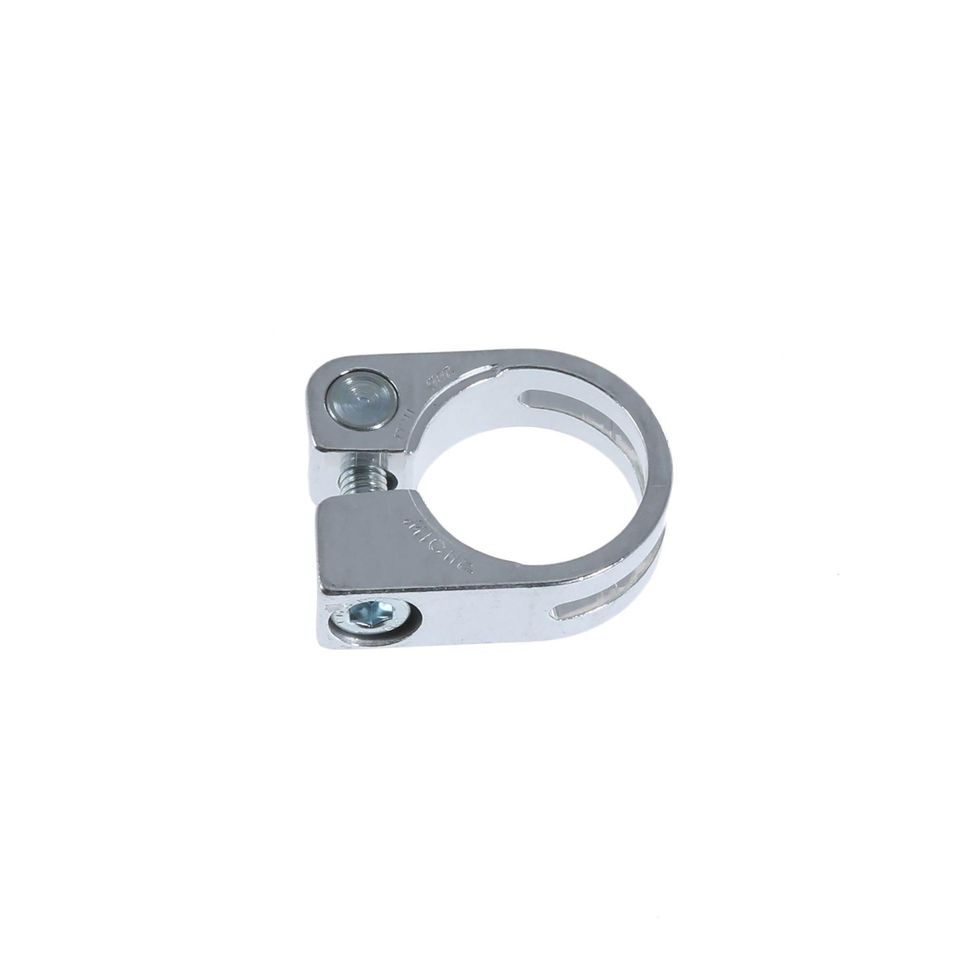 Collier de selle Miche Race Light Alu 28.6 mm à visser Argent