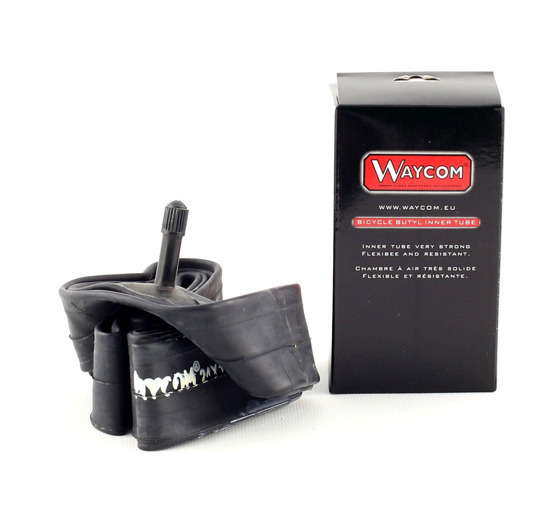 Chambre à air Waycom 24 x 1.75/2.125 renforcée Butyle Schrader