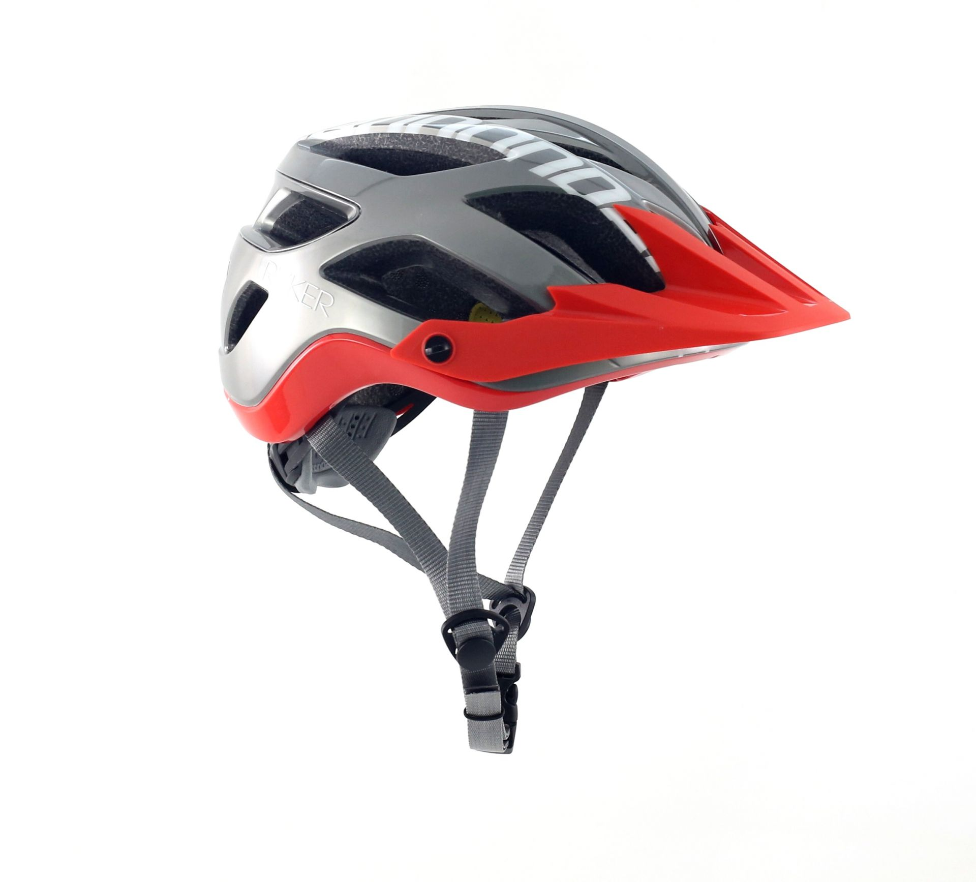Casque Cannondale Ryker AM Gris/Rouge - S / 50-54 cm