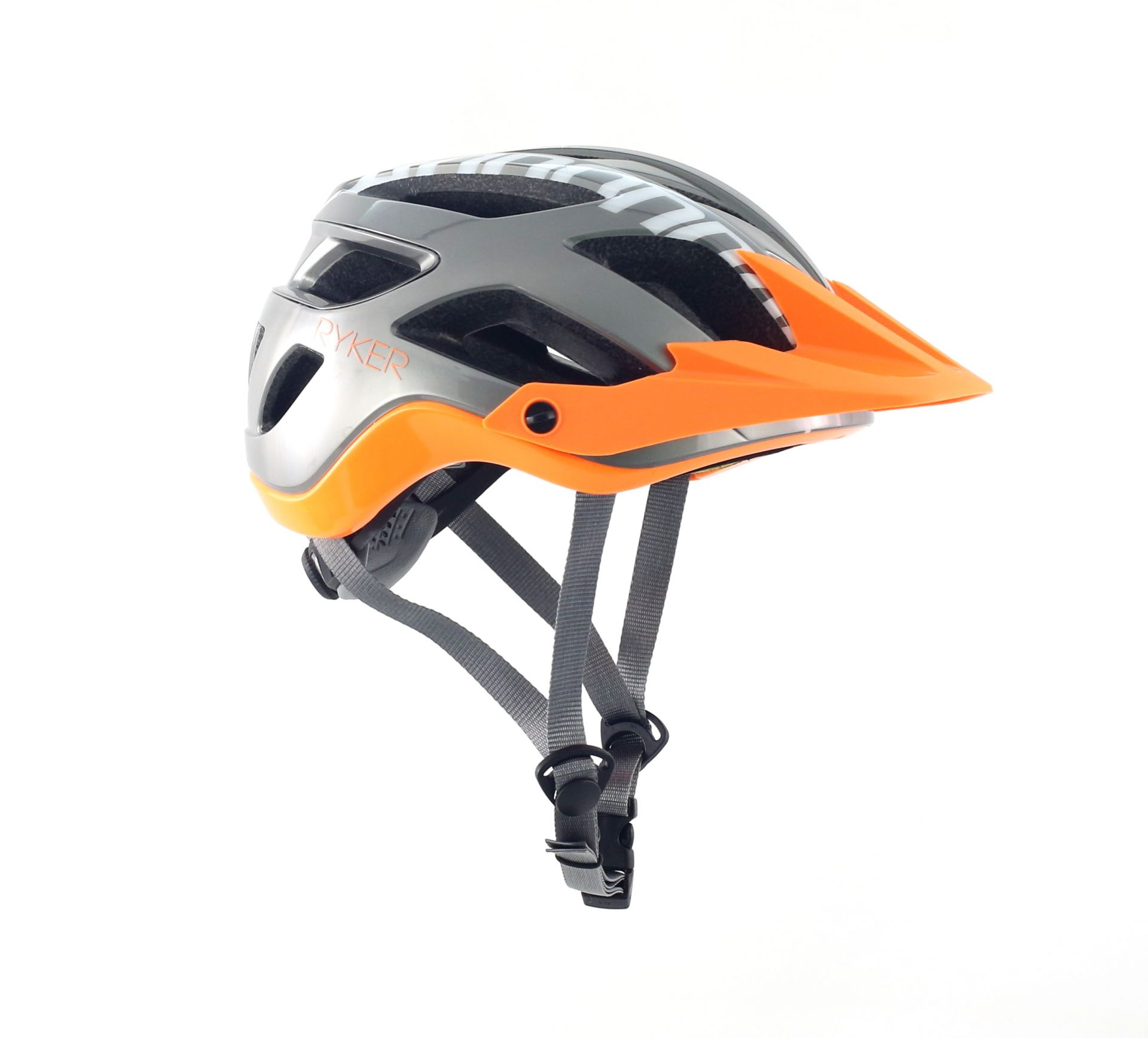 Casque Cannondale Ryker AM Gris/Orange - M / 54-58 cm