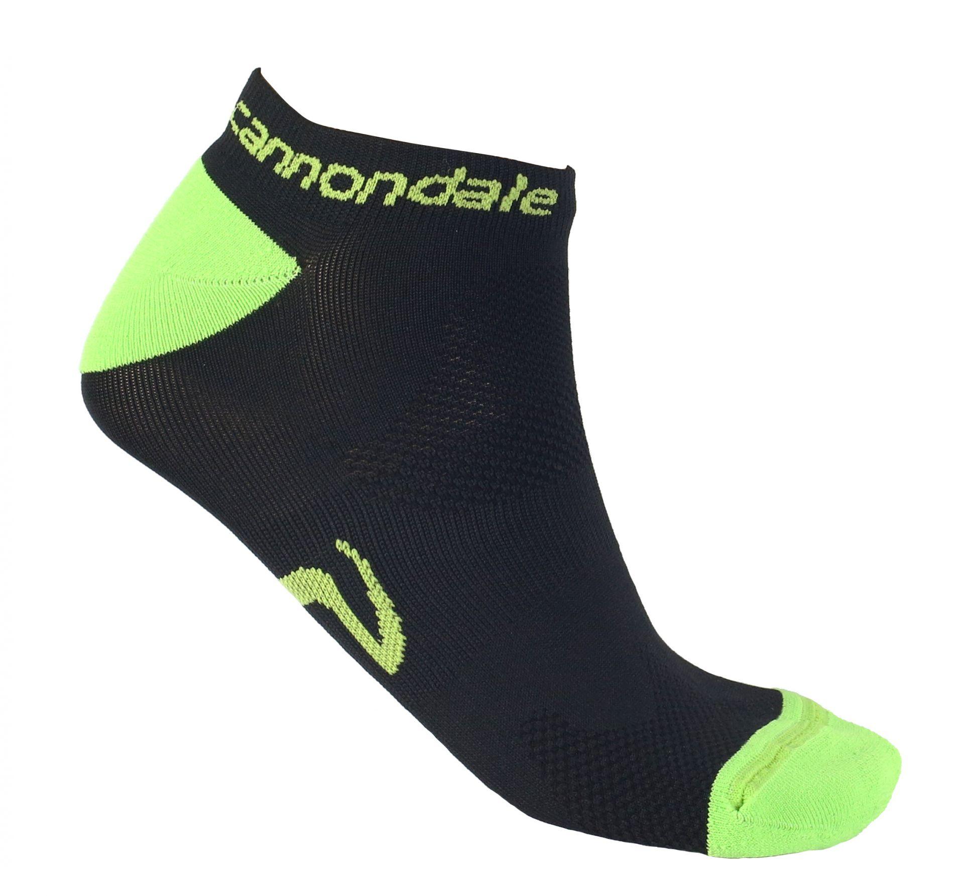 Chaussettes Cannondale Low Socks Noir - S / 35-37