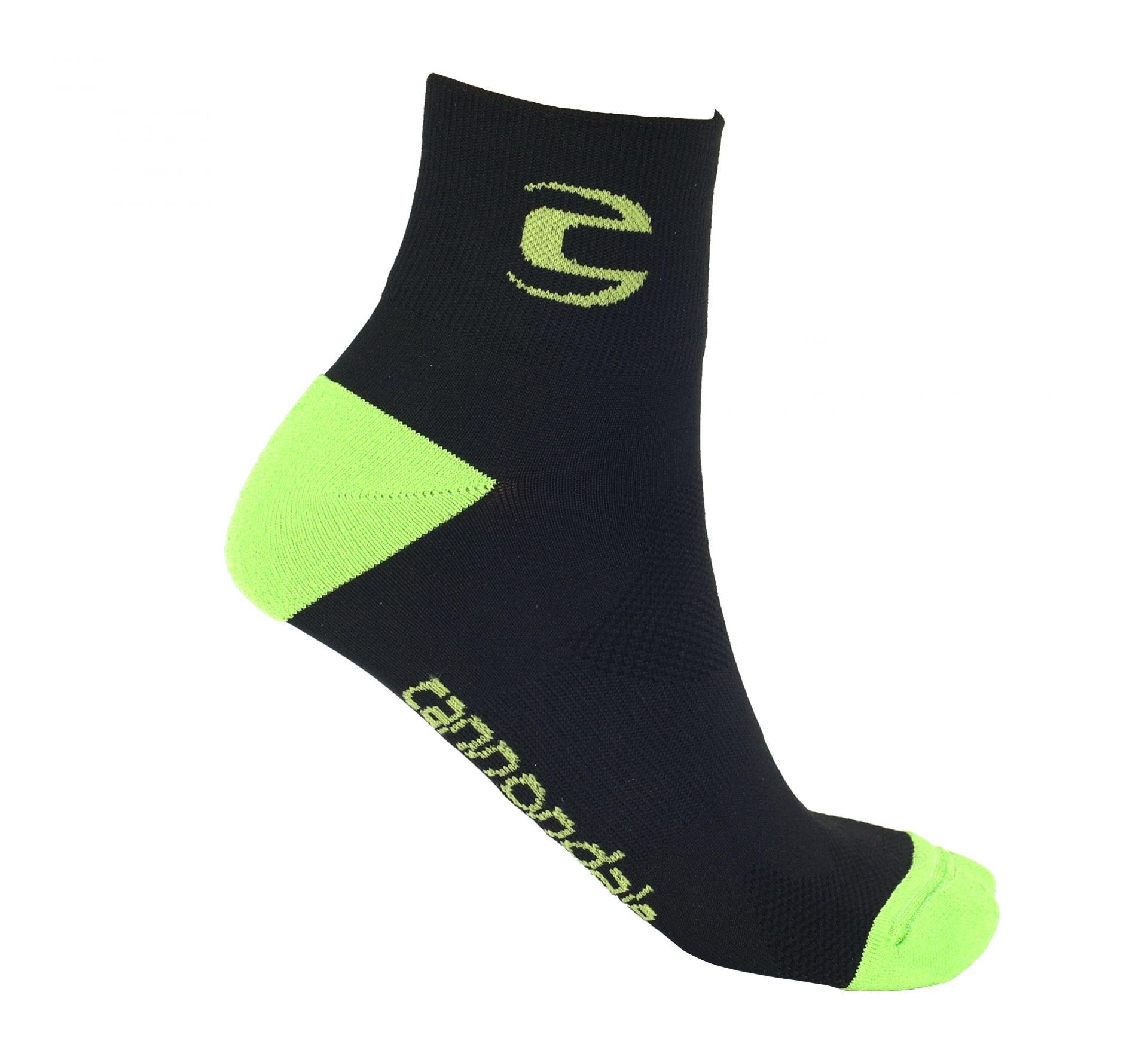 Chaussettes Cannondale Mid Socks Noir - S / 35-37