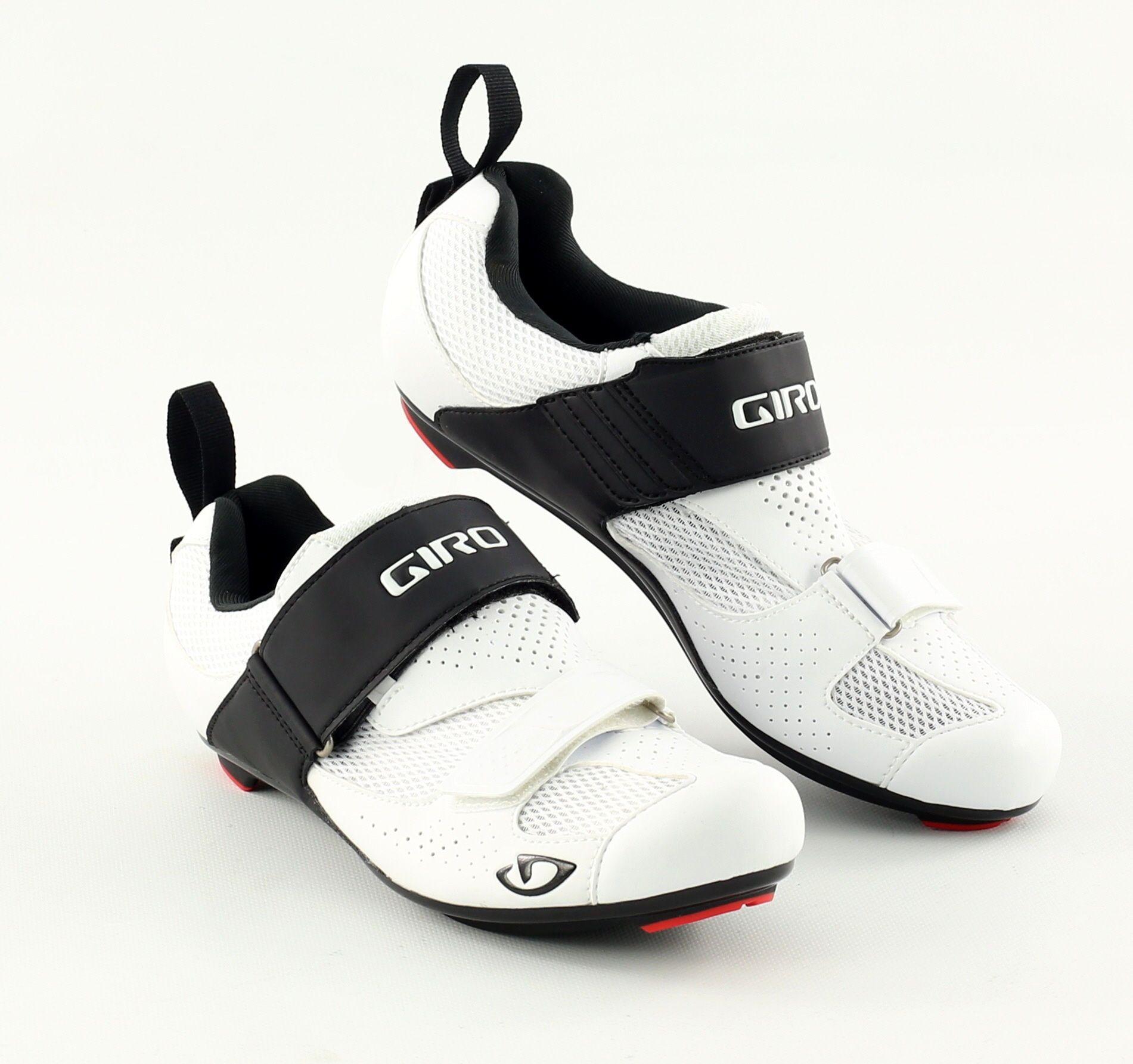 Chaussures route Giro Inciter TRI Blanc/Noir - 41