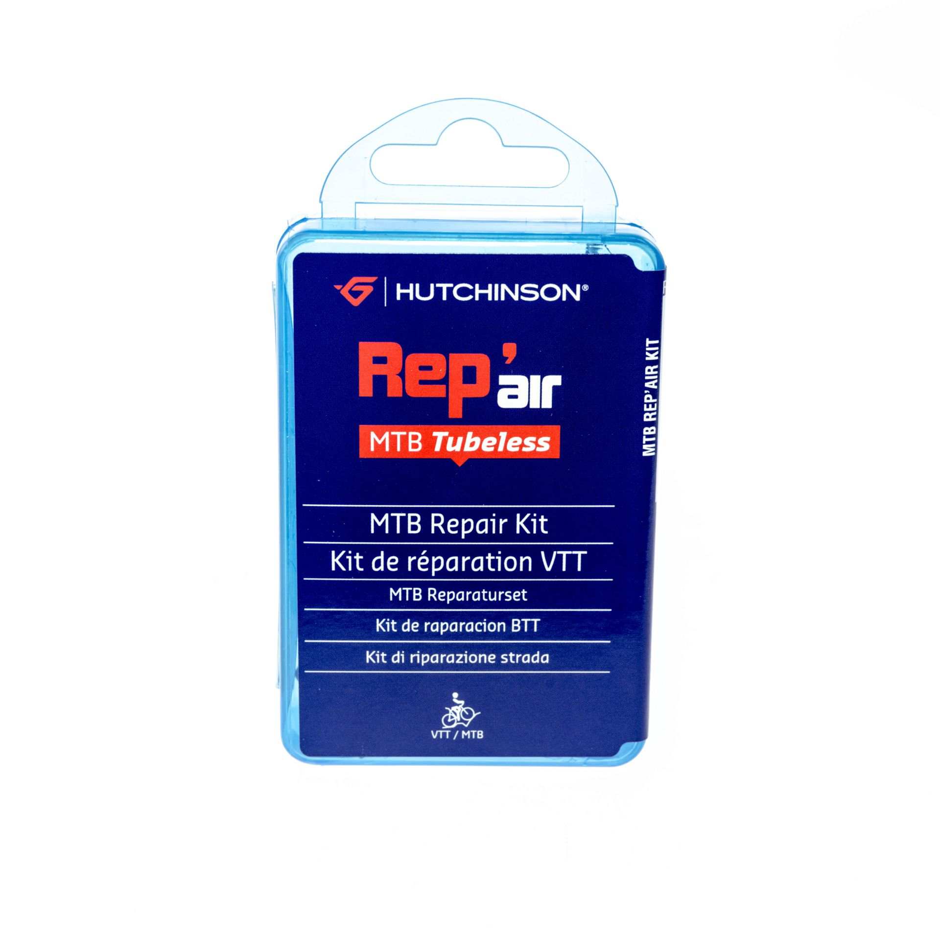 Kit de réparation Hutchinson Rep'air Tubeless VTT 4 x 25 mm + colle 3 g